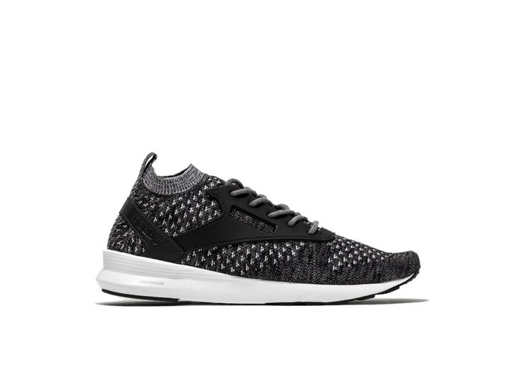 Zoku Runner ULTK HTRD Sneakers color gray-zoku runner ultk htrd sneakers with one-piece mélange effect knit upper color gray. dmx lite midsole. abrasion resistant rubber sole. height of sole: 1 cm. height of heel: 3 cm.