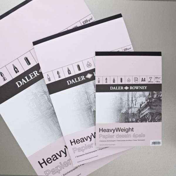 #MakeXmas  Daler Rowney Heavy Weight Cartridge Pad 220gsm 25 Sheets