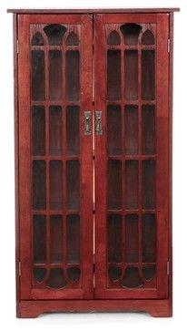 Holly & Martin Grayson Window Pane Media Cabinet - traditional - Media Cabinets - Luxvanity