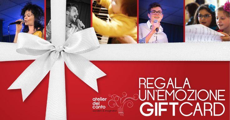 Gift Card   Regala un'Emozione   Atelierdelcanto