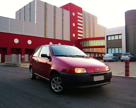 1997 - Fiat Punto 55 S Bordeaux ovviamente