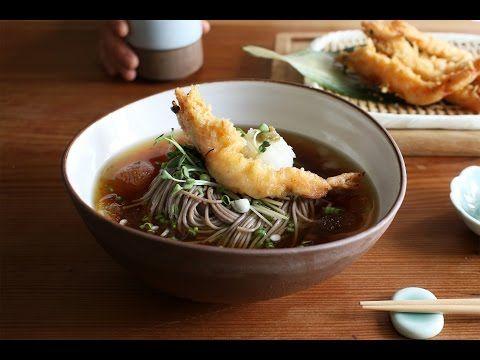 화룡점정 새우를 올린 시원한 냉메밀 : Soba Noodle [아내의 식탁] - https://www.youtube.com/watch?v=dc59nOvFWFQ