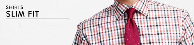 Men's Slim Fit Shirts - Men - ThomasPink