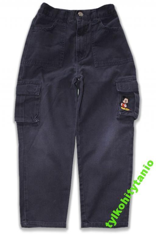 DISNEY MICKEY bawełniane spodnie 5-6 lat