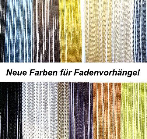 Neuen Farben für Fadenvorhänge