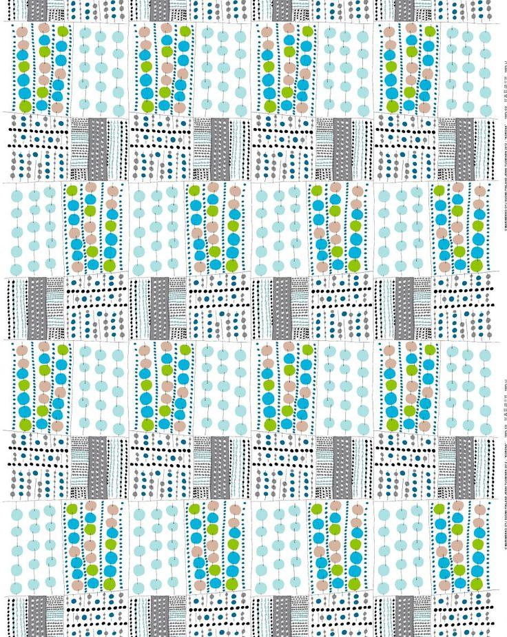 Marimekko (Finlande) éditeur de motifs, tissu pour la mode ou la maison