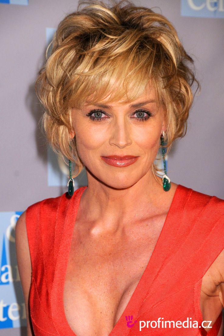 Sharon Stone - peinado de
