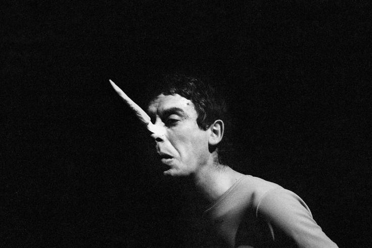 Claudio Abate, Carmelo Bene in Pinocchio, Teatro Centrale, Roma 1966