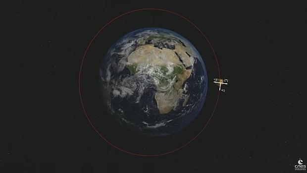 El satélite MicroSCOPE pone a prueba el principio de equivalencia alrededor de la Tierra