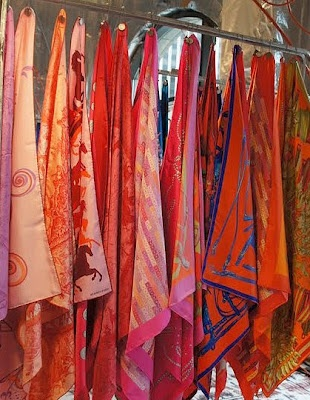 Hermes scarves ~ when is enough really enough? (never :)