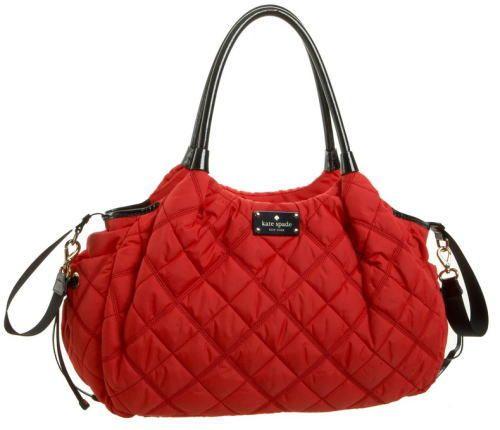 ケイトスペードのマザーズバッグ Kate spade Chestnut Ridge Stevie Baby Bag Geranium (ゼラニウム)-ブランドマザーズバッグ専門店マミー&ベイビー