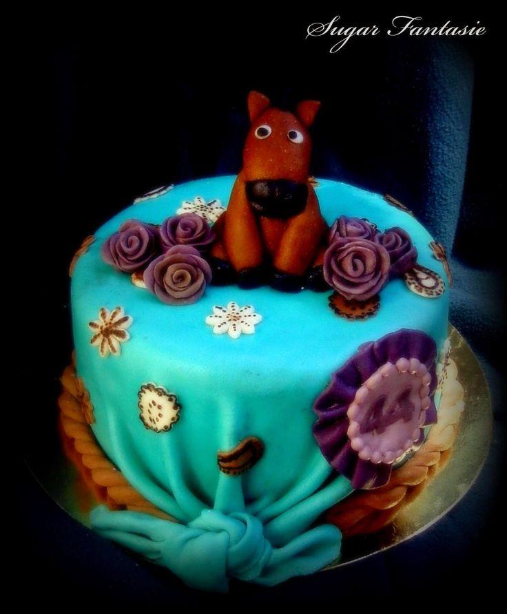 Sugar Fantasie -Torták és cukorvirágok: Lovacskás torta