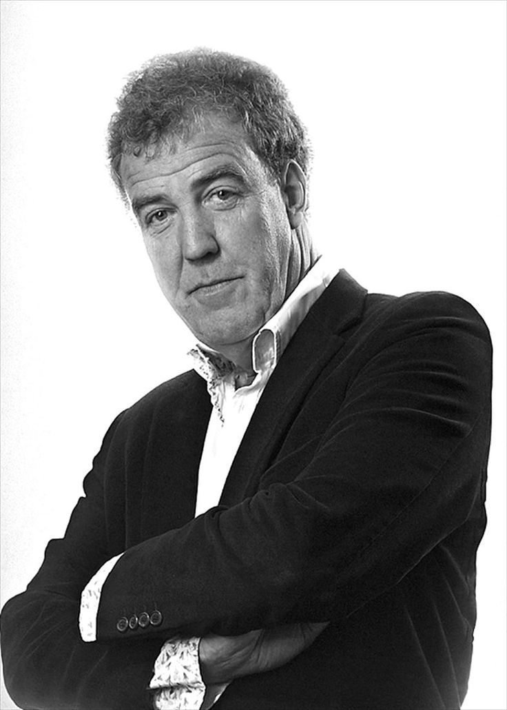 Jeremy Clarkson...thanks to my boyfriend I am now addicted to Top Gear UK and the men on it :)