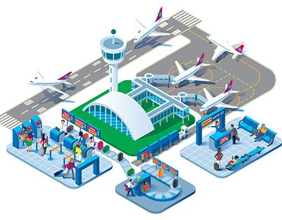 """Check out new work on my @Behance portfolio: """"Airport infrastructure."""" http://be.net/gallery/60503141/Airport-infrastructure"""