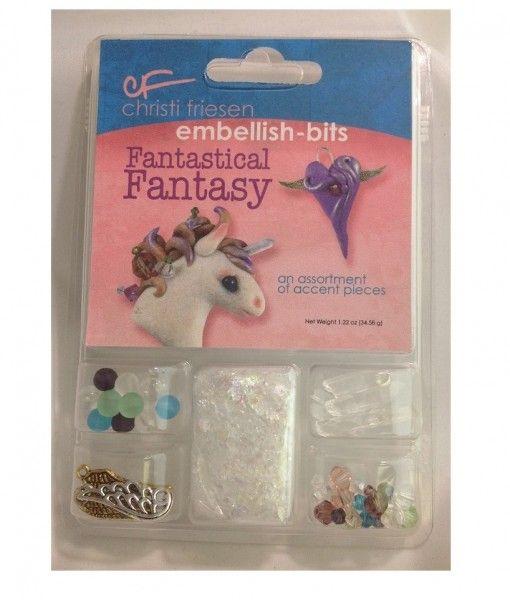 Christie Friesen Fantastical Fantasy Embellishment Kits. What a great little kit.