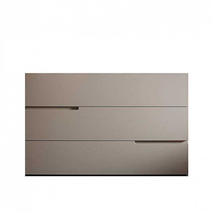 Modern luxury wide chest of drawers Fred by Morassutti