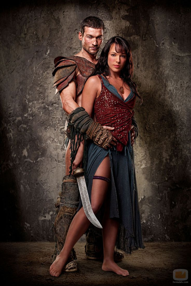 Spartacus & Sura from Spartacus: Blood and Sand
