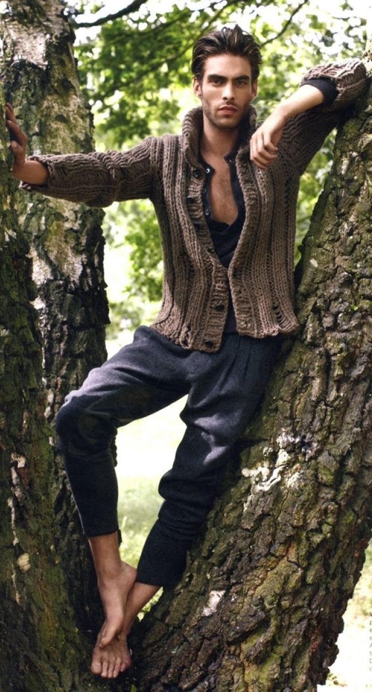Jon kortajarena. Everyone should know that I can't resist a man in a tree