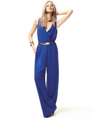 Mango Jump Suit -A garment incorporating trousers or shorts and a sleeved top in one piece. (Rudrakshi Johar FMM1B2)