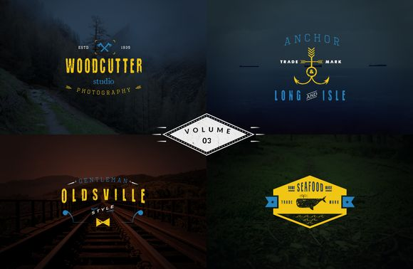 Check out Vintage Logo Templates - vol 3 by Brazvan on Creative Market