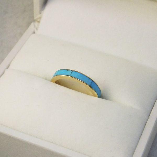 ターコイズを使ったその人らしい指輪に♡ *エンゲージリング 婚約指輪・オーダーメイドまとめ一覧*