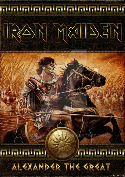 Iron Maiden - Alexander the Great by croatian-crusader
