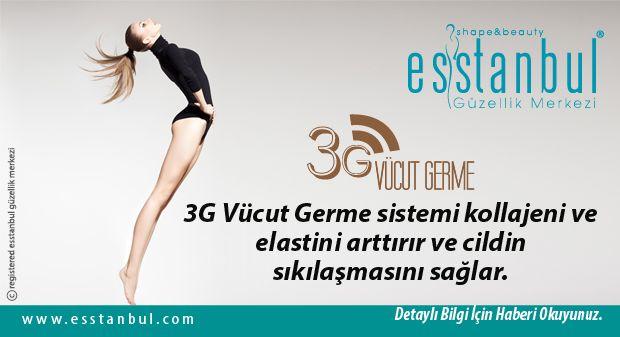 Ameliyatsız Vücut Germe Teknolojisinde Son Nokta 3G Vücut Germe.