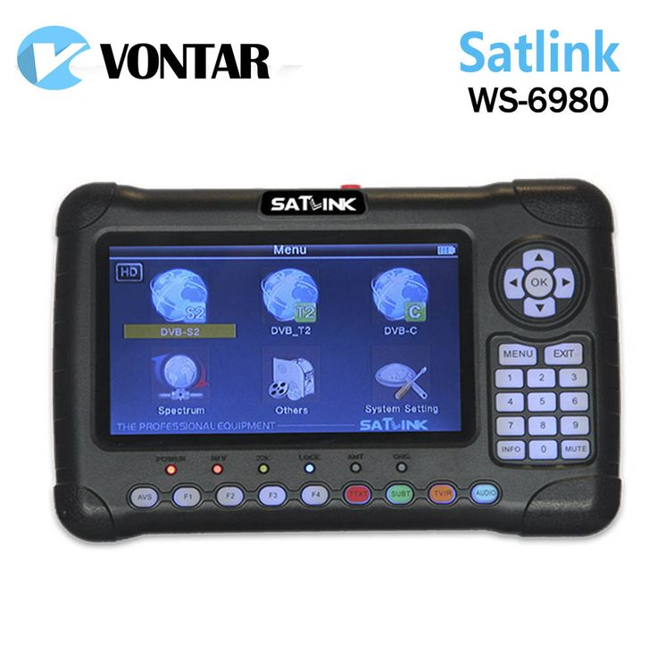 >> Click to Buy << [Genuine] Satlink WS-6980 7inch HD LCD  DVB-S2&DVB-T/T2&DVB-C Combo Finder ws6980 6980 with Spectrum Analyzer constellation #Affiliate