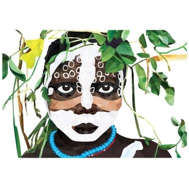Brent Rosenberg Jungle Child Limited Edition Print :: Collections :: Crate Expectations :: Gifts & Homewares