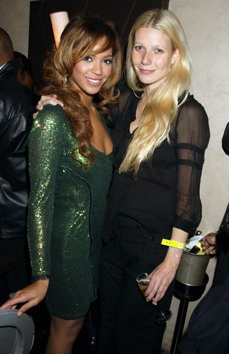 6 Times Gwyneth Paltrow and Beyoncé Were BFF Goals - When They Were Backstage Buddies from InStyle.com