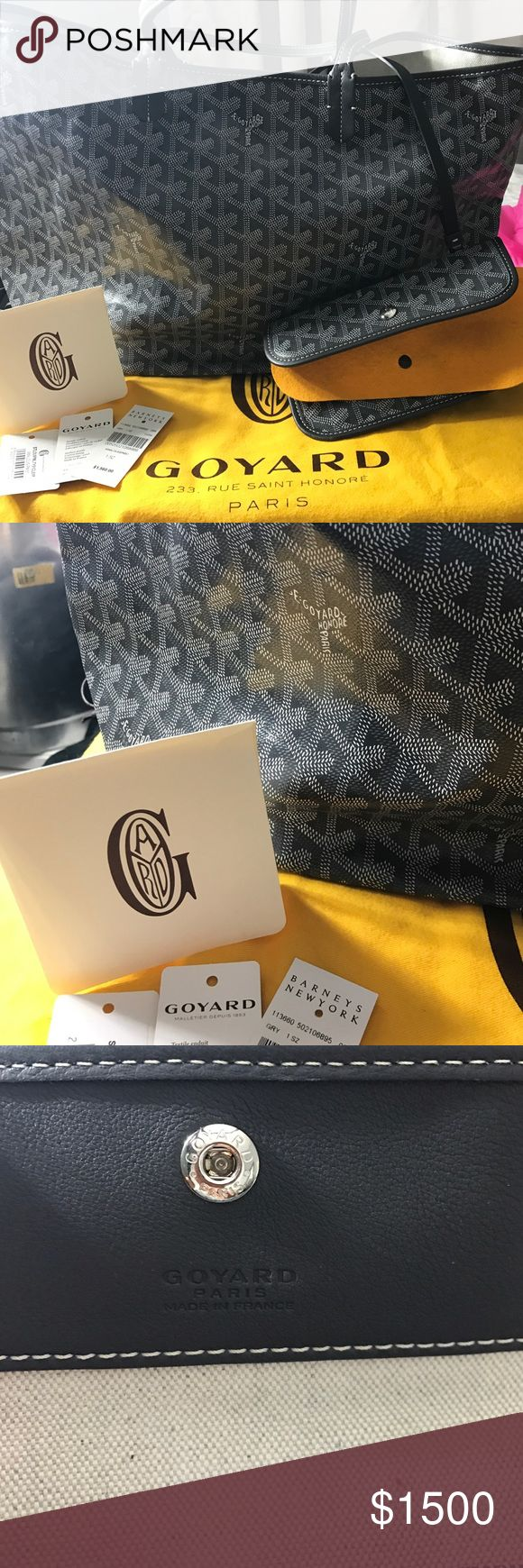 Goyard gray pm at Louis tote Original tags/ dustbag / never worn/ immaculate condition... cheaper on MERC/E/P ❌NO TRADES/BUNDLE DISCOUNTS/ Goyard Bags Totes