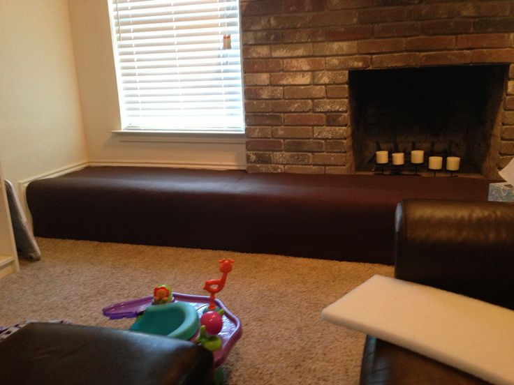DIY Baby Proofed Fireplace. Part 44