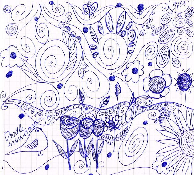mariska eyck: a sunday morning doodle