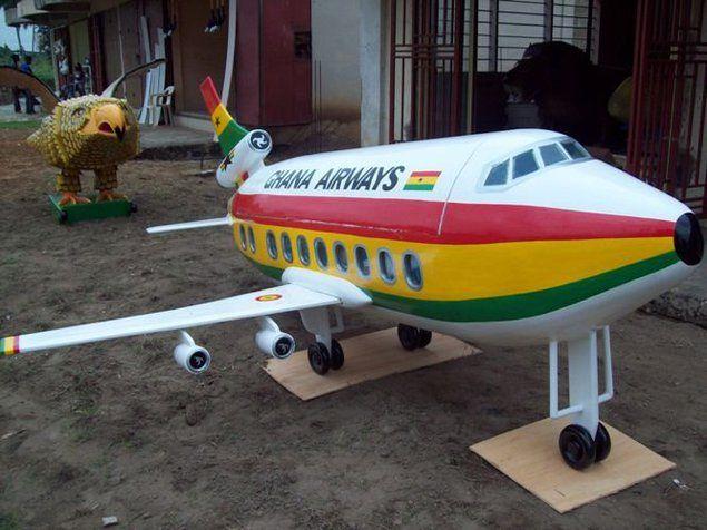 Paa Joe, Untitled (Ghana Airways), 2010.