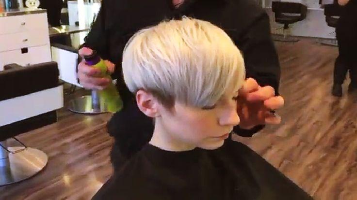 Women's Short Haircut 2016 || Dis. Undercut Step By Step