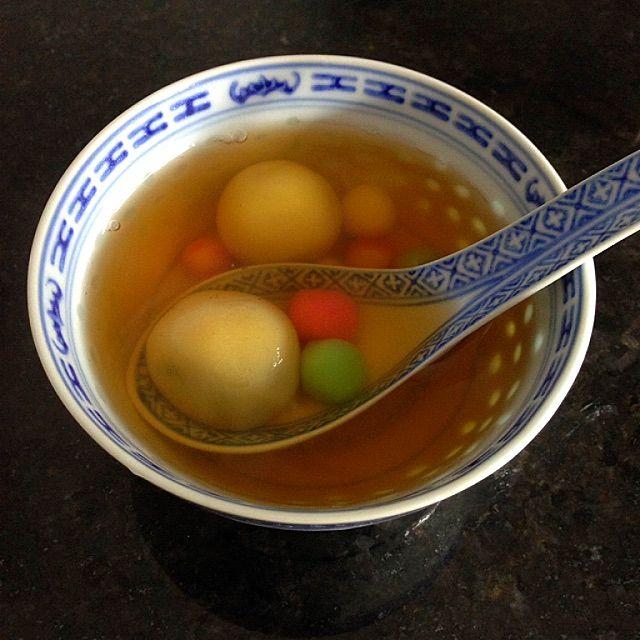 Tang Yuen Recipe (汤圆, Glutinous Rice Balls Sweet Soup) - coasterkitchen - Dayre