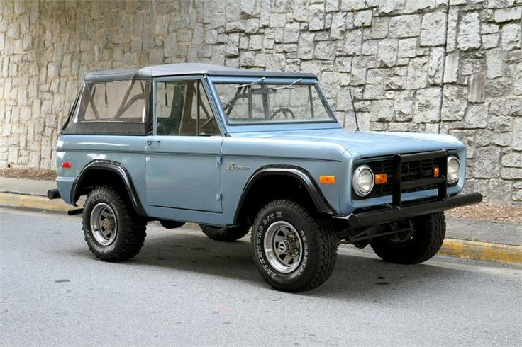 1974 ford bronco for sale in atlanta scouts pinterest. Black Bedroom Furniture Sets. Home Design Ideas