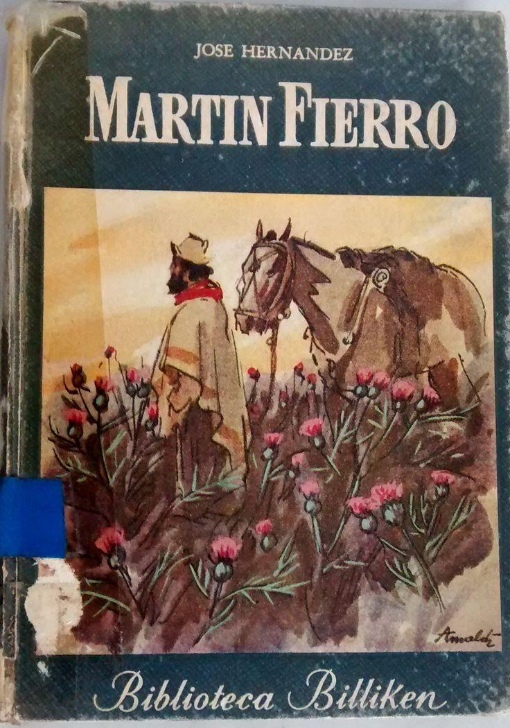 """En biblioteca. Edición de 1954 de la Colección """"Biblioteca Billiken"""". Ed. Atlántida. Selección y glosas por A. Larrán de Vere."""