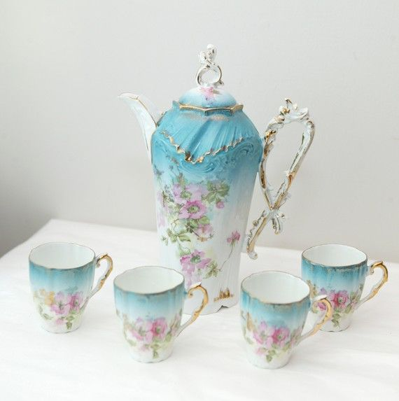 Bavarian china, and gorgeous570573 Pixel, Teas Time, Beautiful Chocolates, Teas Cups, Bavarian China, Teas Pots, Teas Sets, Teas Parties, Chocolates Pots