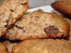 Diós-mazsolás keksz