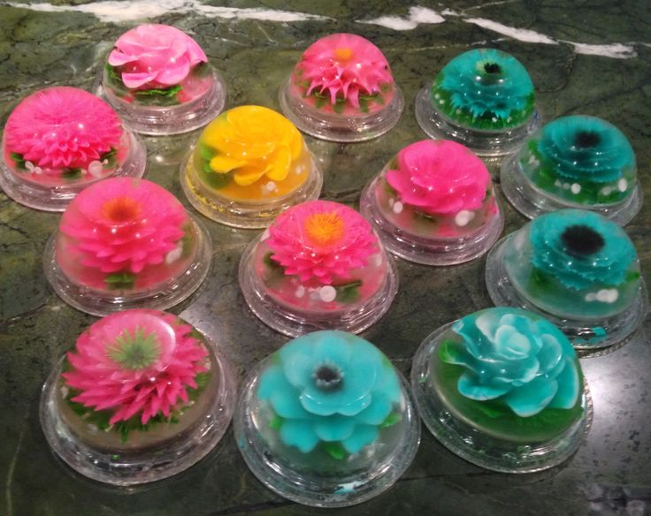 Best images about d floral gelatine on pinterest