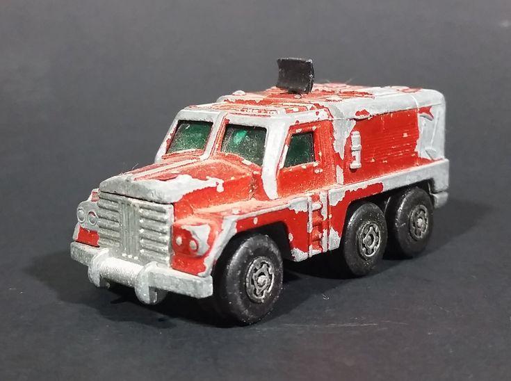 1973 Lesney Matchbox Rolamatics No. 16 Badger Orange Radar Truck Diecast Toy Car https://treasurevalleyantiques.com/products/1973-lesney-matchbox-rolamatics-no-16-badger-orange-radar-truck-diecast-toy-car #Vintage #1970s #70s #Seventies #Lesney #Matchbox #MadeInEngland #England #Rolamatics #Badger #Orange #Radar #Truck #Diecast #Toys #Collectibles #Cars #Vehicles #Automobiles