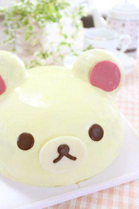 クリスマスに♡コリラックマのドームケーキ