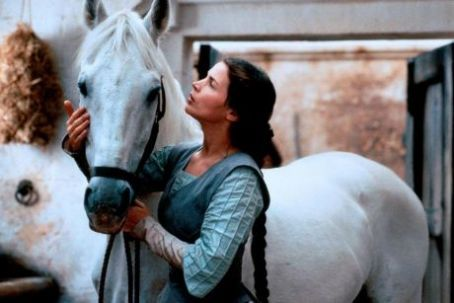 Julia Ormond in First Knight (please tell me that i got her name right)