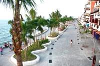 Puerto Vallarta's Malecon. Miss it so much :(