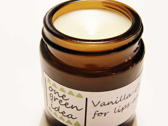 VanillaCoconut Balm Salve for Lips and Everywhere by OneGreenIdea, €5.00