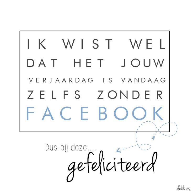 Funny Happy Birthday Facebook Quotes: Https://www.facebook.com/debbiesplaatjes