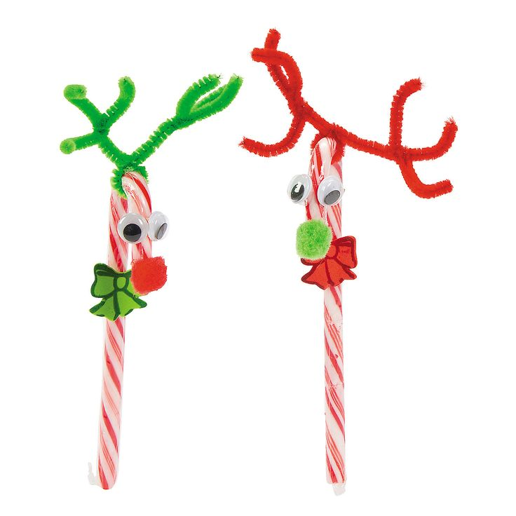 The  Best Candy Cane Reindeer Ideas On   Kids