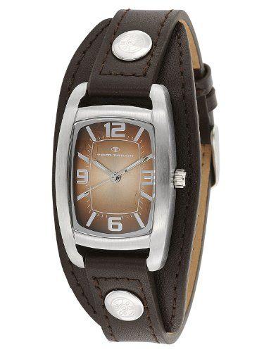Tom Tailor Damen-Armbanduhr Analog Quarz Leder 5411902