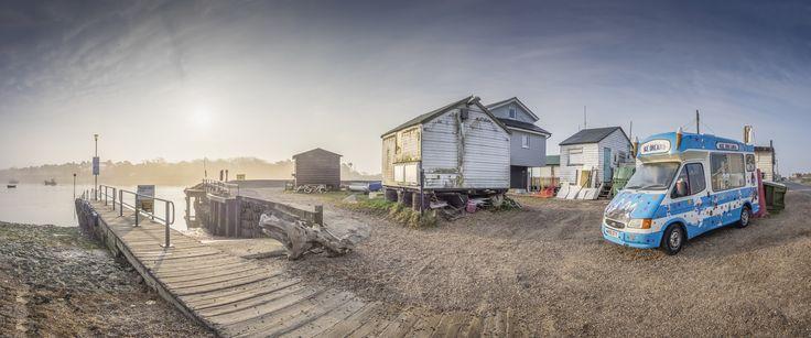 Deben Ferry at Dawn by Nigel Lomas on 500px